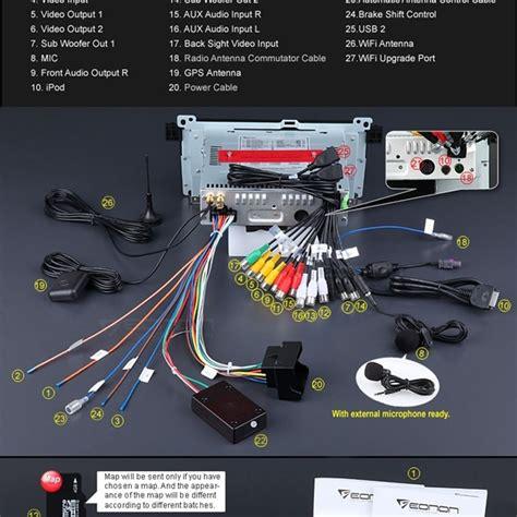 eonon e46 wiring diagram 28 images xtrons pf7246bgt 7