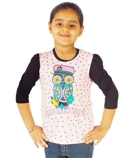Segiempat Kaira Polos 130 Baby Pink ninos baby pink black owl printed t shirt for buy ninos baby pink