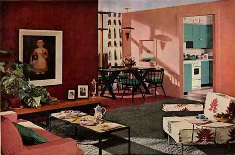 1950s living room 1950s design missshitsville