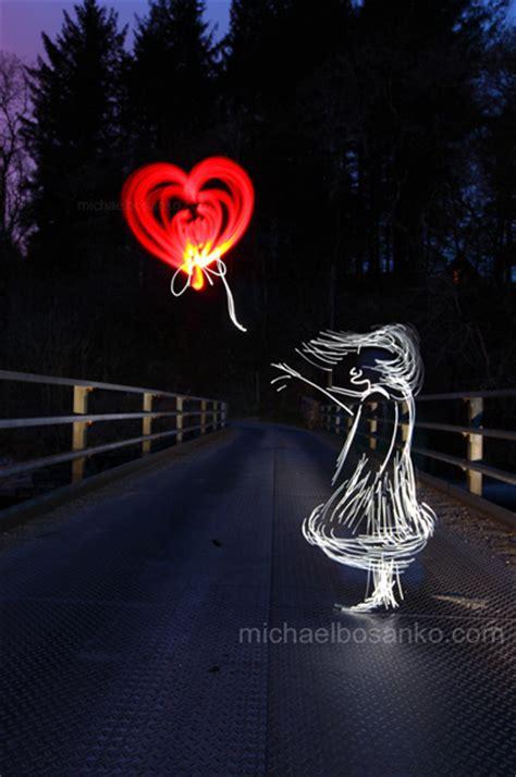 michael bosankos  light painting series illuminating