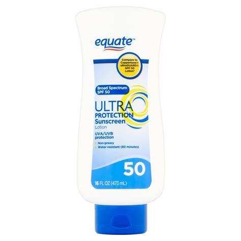 Spf 50 Sunblock equate ultra protection suncreen lotion spf 50 ebay
