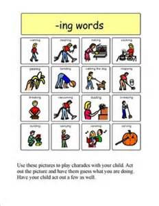1000 images about ing verbs on speech therapy