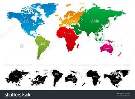 world map with country names high resolution continents clipart clipground