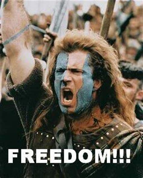 William Wallace Meme - scotland is leaving england