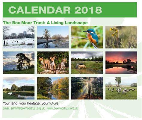 2018 acid calendar year in a box 2018 calendar the box moor trust