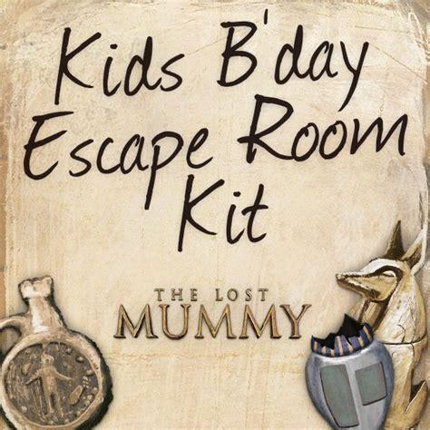 printable escape room kit free diy home escape room download print the kit