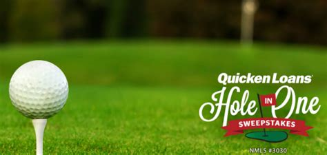 Pga Tour Hole In One Sweepstakes - one shot one mortgage free year the quicken loans hole in one sweepstakes is back