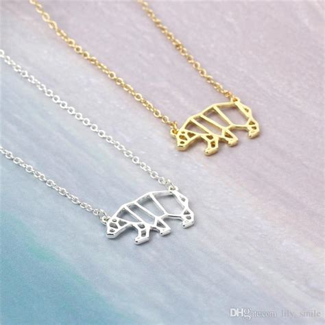 Origami Jewelry Wholesale - wholesale 2017 newest unique origami animal necklace