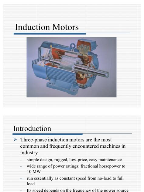 induction motor introduction induction machines electric motor torque