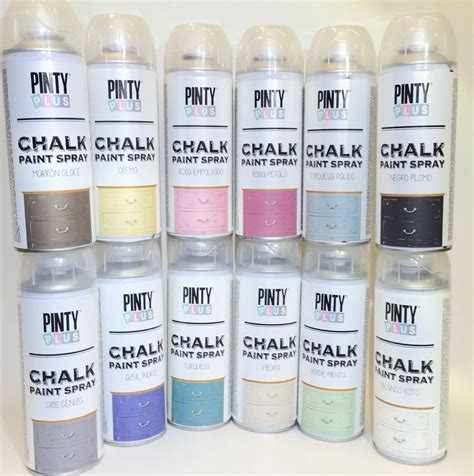 chalk paint spray pinty plus chalk spray paint shabby chic furniture 400ml