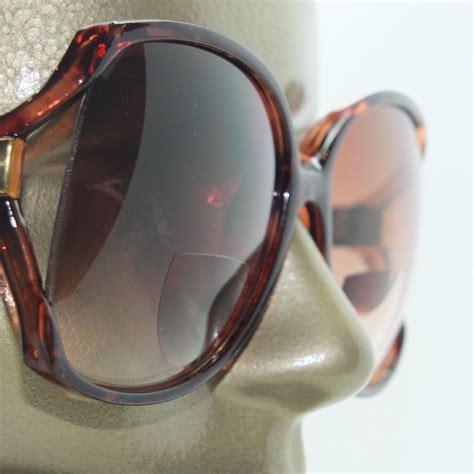 fashion tortoise frame sunglasses tint bifocal