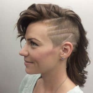 miley cyrus inspired womans disconnected haircut barber cute short hairstyles and haircut for women 2017