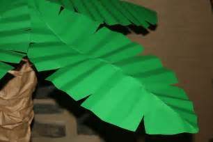 How To Make Tree Out Of Paper - palm trees paper petals
