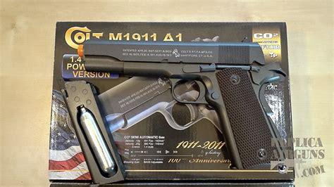 Airsoft Gun M1911 cybergun colt m1911 a1 co2 blowback airsoft pistol mini