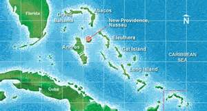 miami to bahamas map