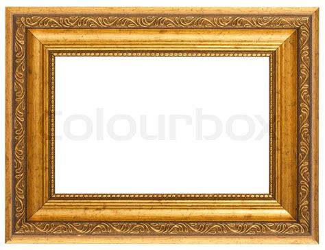 Holz Weihnachtsdeko 3124 by Goldene Antiken Rahmen Isoliert Auf Wei 223 Em Hintergrund
