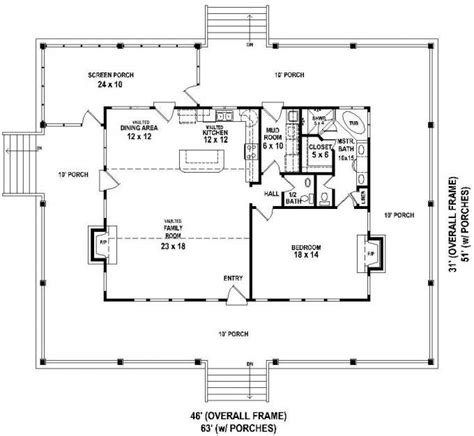 wrap around porch floor plans 76 best home plans images on small house plans