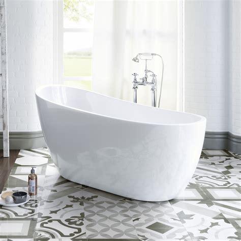 1520mm Luxury Freestanding Bath Modern Bathroom Gloss