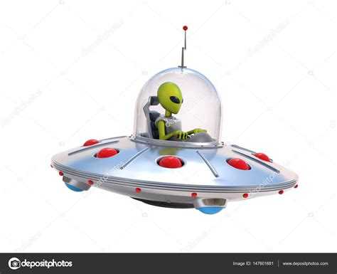 nave volante nave extraterrestre platillo volante foto de stock