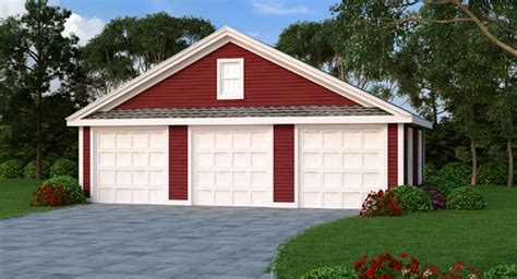 garage plans cost to build estimate the cost to build for 3 car garage bhg 4969
