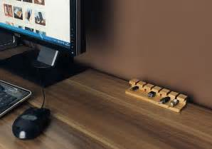 desk cable organizer simple cord management solutions that can make easier