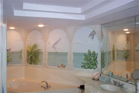 bathroom mural ideas unique bathroom wall murals with additional home