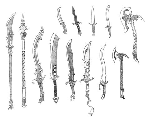 doodle how to make weapon random weapons 6 by bladedog on deviantart