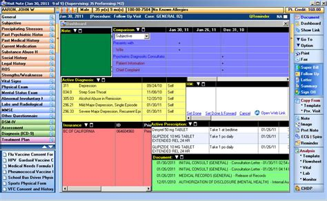 Mental Health Records Mental Health Specialists Electronic Record Software Emr Ehr