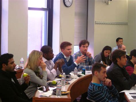 Nyu Mba Visit by Michael Price Student Investment Fund