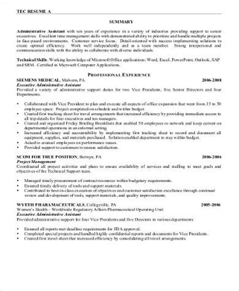Nursing Assistant Resume by 8 Sle Nursing Assistant Resumes Sle Templates