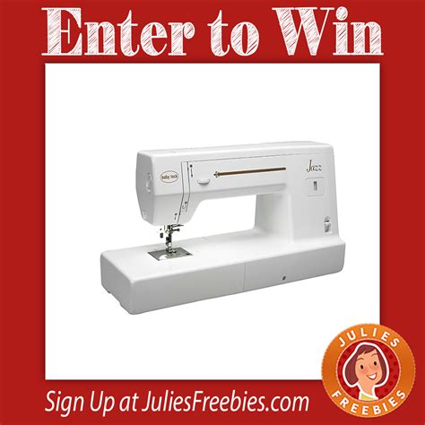 Babylock Sweepstakes - win a baby lock jazz sewing machine julie s freebies