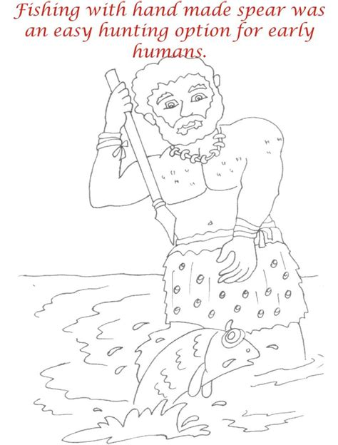 early humans coloring page free coloring pages of life cycle of humans