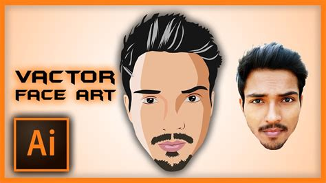 vector face tutorial photoshop cs6 illustrator tutorial vector face art using pen tool