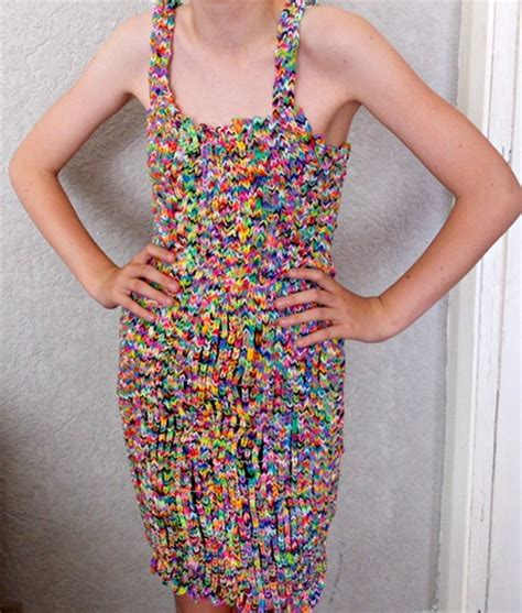 dress made from 24k loom bands sells on ebay for 170k what would you bid on ebay for a dress made of loom bands