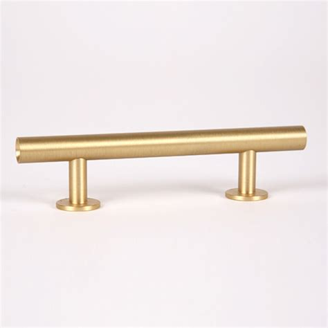 brushed gold cabinet hardware shop lew s hardware 3 in center to center brushed brass