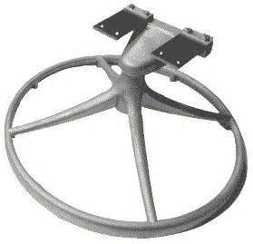 Patio Chair Replacement Parts 24 Quot K3655 Patio Rock Swivel Chair Replacement Base Complete Assembly Patio