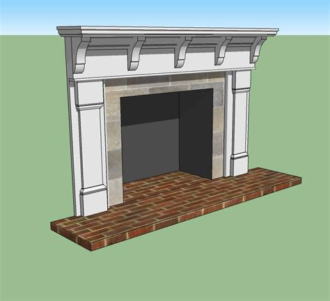 Mantel Corbels Another Hybrid Mission Mantel 187 Architectural Turnings