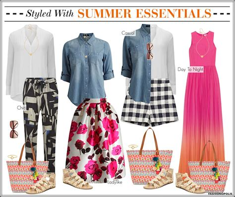 Summer Wardrobe Essentials by Plus Size Fashion Positivity Lifestyle Feminism