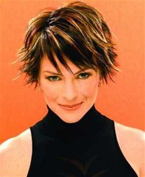 older women short brown hair with highlights 1000 images about short hairstyles and highlights on
