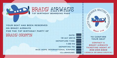 airline ticket invitation template free brady airways boarding pass ticket template theme for