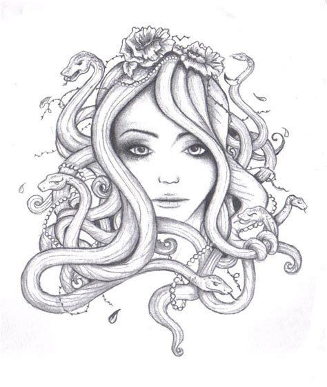 doodle medusa medusa drawing album covers medusa drawing and