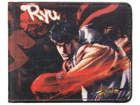 Fighter Akuma Black fighter ryu vs akuma black wallet ebay