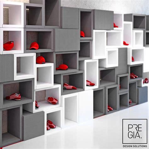 estantes para tiendas estanter 237 a modular moderna de poliestireno para