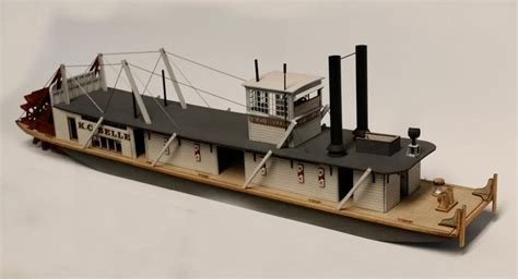 ho scale boat kits survey of wooden mississippi riverboat kits wood ship