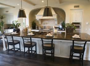 long kitchen island ideas 39 fabulous eat in custom kitchen designs