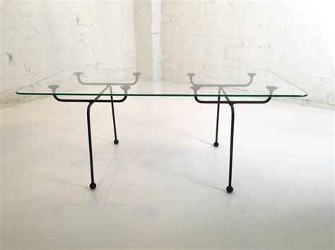 Clement Meadmore Steel Rod And Glass Coffee Table Glass Coffee Tables Melbourne
