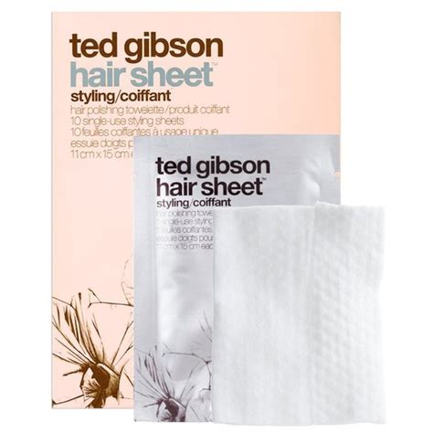 Ted Gibson Hair Sheets ted gibson hair sheet hair styling sheets beautylish