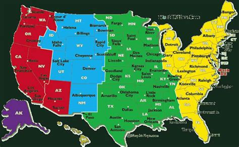 map of usa with states and timezones map of u s time zones map travel holidaymapq
