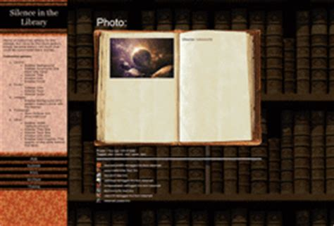 book themes tumblr themes by eris theme silence in the library