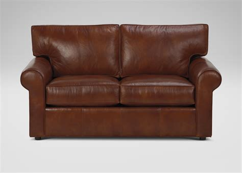 ethan allen chesterfield sofa ethan allen leather sofa richmond leather sofa chocolate